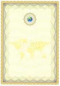 Образец Сертификат ISO 9001 для мебельного производства